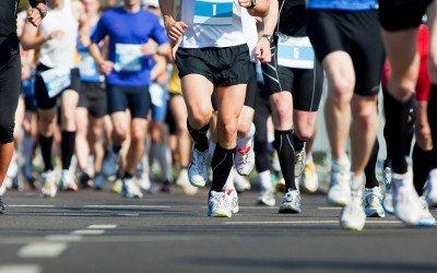 Marathon training?